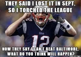 2014/2015 NFL Playoff Battle of Memes: Joe Flacco vs Tom Brady ... via Relatably.com