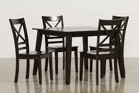 dining room tables chairs square: sandy espresso  piece square dining set main