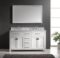 design basin bathroom sink vanities: x double square sink bathroom vanity in white on sale online