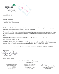 flomo whole flomo receives thank you letter from gsnnj flomo nygala corp is a proud active supporter of girl scouts of northern new jersey this summer we sponsored internships at our headquarters