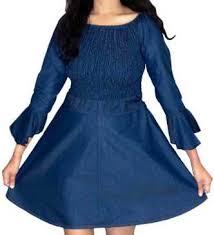 <b>Denim Dresses</b> - Buy <b>Denim Dresses</b> Online at Best Prices In India ...
