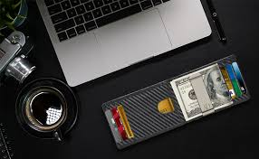 <b>Slim</b> Bifold Wallets For <b>Men</b> - <b>Money Clip Wallet</b> RFID Front Pocket ...