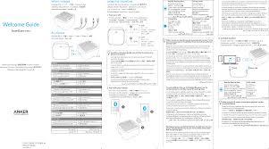 A3104 <b>SoundCore</b> Nano Speaker User Manual <b>Anker</b> Technology