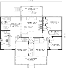 Fox Bend Luxury Country Home Plan S    House Plans and MoreLuxury House Plan First Floor   S    House Plans and More