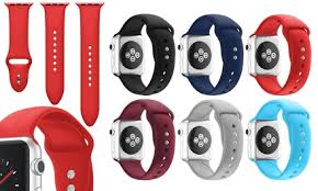 WalvoDesign <b>Silicone Strap for Apple</b> Watch Series 1-5