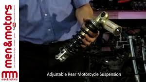 <b>Adjustable</b> Rear <b>Motorcycle Suspension</b> - YouTube