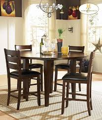 56 round dining table outstanding manhattan  piece  inch round dining room set in walnut med