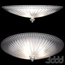 3d модели: Потолочный - Потолочный <b>светильник Ideal Lux Shell</b> ...