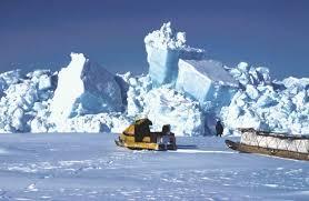 Queen Elizabeth Islands  Sea ice thrusting up against the     Kids Britannica