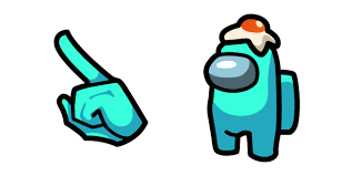 Among Us Character with <b>Egg</b> Hat курсор пак – Custom Cursor
