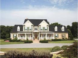 Farmhouse House Plan   Square Feet and Bedrooms from    Front