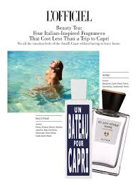 <b>Eau d</b>'<b>Italie</b> Un Bateau Pour Capri and <b>ALTAIA By</b> Any Other Name ...