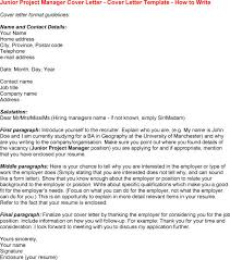 project manager resume cover letter  socialsci coresume cover letter template project manager junior project manager cover letter templates resume   project manager resume
