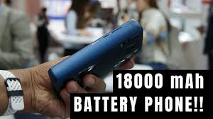 World's <b>Highest Battery Capacity Smartphone</b> - 18000 mAh <b>Battery</b> ...