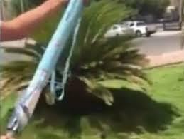 Hacı adaylarına güneş enerjili pervaneli şemsiye