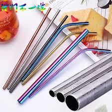 Pattern stainless <b>steel</b> straw <b>net red pearl</b> milk tea straw   Shopee ...