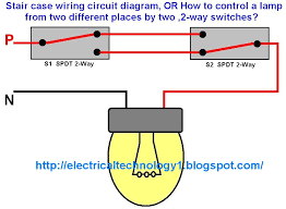 how to make wiring diagram   wiring diagram how to make and use    two way light switch wiring diagram how to control a lamp from