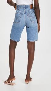<b>Levi's High Loose Bermuda</b> Shorts | SHOPBOP