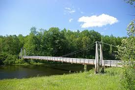 <b>Little Mac</b> Foot Bridge - Manistee County Tourism - Manistee, Michigan