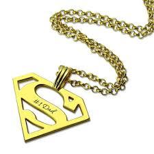 Интернет-магазин AILIN колье с символом Супермена золотого ...