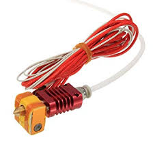 <b>MK10 Assembled Extruder Hot</b> End Kit 1.75mm 0.4mm Nozzle For ...