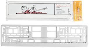 <b>Рамка номерного знака</b> белая AIRLINE AFC04 - Магазин ...