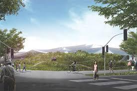 big and heatherwick rework google hq design for smaller mountain view site big heatherwick futuristic google hq