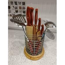 Отзывы о <b>Набор</b> кухонных ножей и <b>кухонных принадлежностей</b> с ...