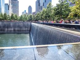 museum memorial a photo essay my wanderlusty life the reflecting pools of the 9 11 memorial in downtown manhattan new york city