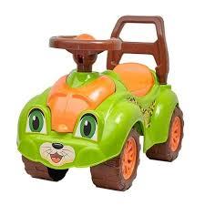 Машинка-<b>каталка RT</b> ZOO Animal Planet Леопард зеленый ...