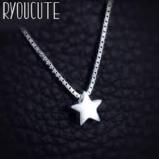 RYOUCUTE <b>100</b>% <b>Real Pure 925</b> Sterling Silver Jewelry Boho ...