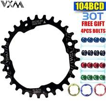 VXM Bicycle 30T Chainring 104bcd Mountain Bike Chain ring ...