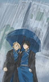 best images about full metal alchemist hawkeye not sure if it came across but i was aiming to make their expression a bit comical side note i hate making backgrounds stuck in the rain