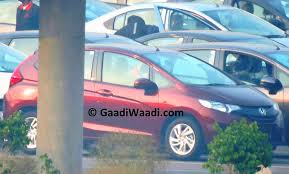 new car launches in early 2015New Honda Jazz spotted in India launch in early 2015