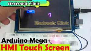 "Arduino Mega HMI touch screen ""<b>7 inch TFT LCD</b>"" based Load ..."