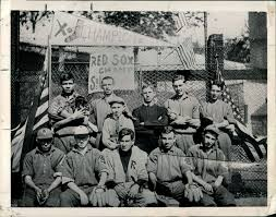 extrawellrounded extraordinarily well rounded george herman ruth back left corner his st mary s teammates