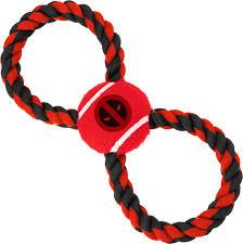 Бакл <b>Игрушка Buckle-Down Дэдпул</b> красный цвет мячик на ...