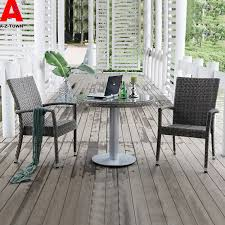recommended rattan chairs three piece balcony leisure furniture outdoor furniture combination package developed wholesale balcony outdoor furniture