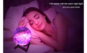 <b>ZK20</b> 3D Printing Moon Lamp Galaxy Moon Light Kids <b>Night Light</b> ...