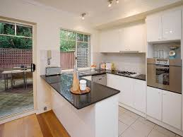 design compact kitchen ideas small layout: u shaped kitchen designs with style compact kitchen layout image