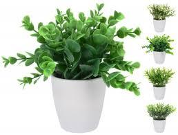 <b>Растение искусственное в</b> горшке 13х16см, в ассортименте ...