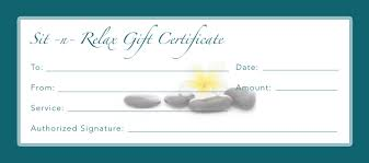 best photos of business gift certificates gift certificate spa gift certificate template