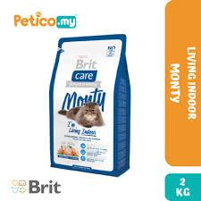 <b>Brit</b> Care <b>Cat</b> Monty I'm Living <b>Indoor</b> Chicken & Rice 2KG <b>Dry Cat</b> ...