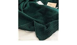 Vaclziy <b>Autumn Winter</b> Knitting <b>Wool</b> Blankets Pure <b>Color</b> Sofa ...