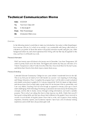 introduction memo example template introduction memo example