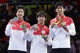 「リオ オリンピック メダル 卓球 成績」の画像検索結果