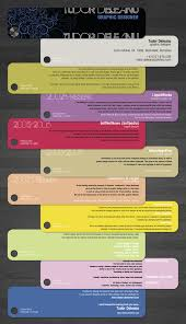 examples of creative graphic design resumes infographics    resume free samples