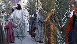Resultado de imagen de domingo de ramos
