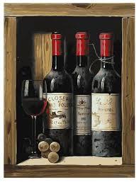 """<b>Белоснежка Картина по номерам</b> """"Коллекционное вино"""" 30х40 ..."""