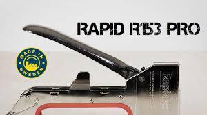 Профессиональный <b>степлер Rapid</b> R153 Workline / Скоба Type ...